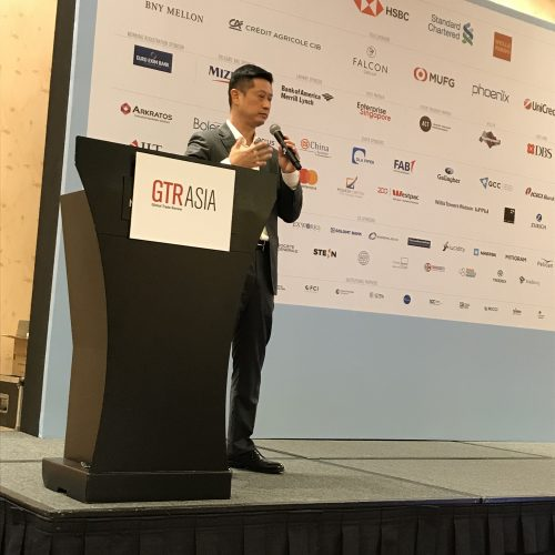Robert Lin from Seabury Trade Finance Exchange