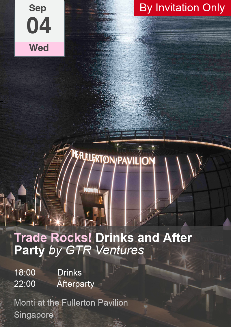 Trade Rocks! Drinks and After Party by GTR & GTR Ventures
