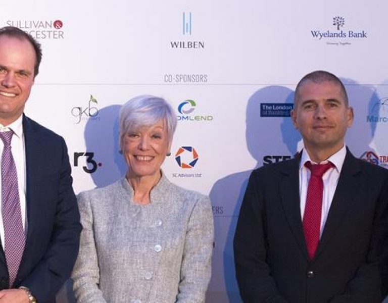 GTR-UK-2019-in-London-the-UK's-biggest-specialized-trade-finance-event-from-left-to-right-Peter-Gubbins-Margrith-Lutschg-Emmenegger-Marius-Savin-Kelvin-Tan